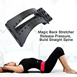 Orthopedic and lumbar pain relief stretcher, lumbar massager orthopedic massage orthopedic cushion spine waist belt back pain