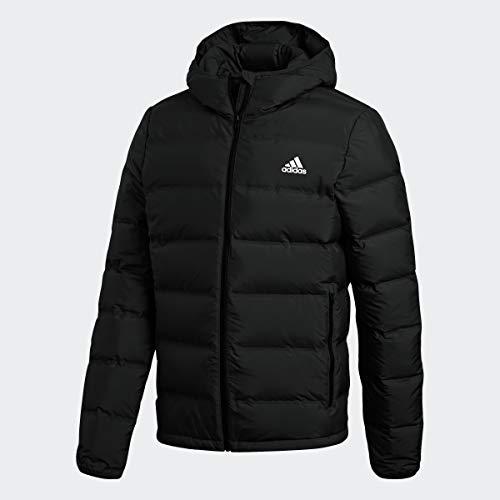 adidas Helionic Down Hooded Chaqueta, negro, XS para Hombre