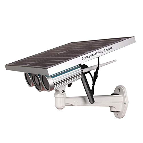 XIAOYUB Fernüberwachung der Solarnetzwerkkamera, 80 m 6 mm Objektiv 1080 P, 2 Millionen Pixel, eingebaute 16 GB, wasserdicht im Freien