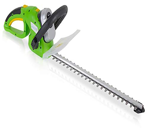 Best Deals! SereneLife Home & Garden Cordless Hedge Trimmer - Electric Trimming Hedger, 18V Recharge...