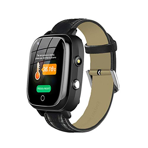 Elderly GPS Smart Watch,Elderly 4G GPS Smart Watch with Function Dual Way Call, GPS+LBS+WiFi Location and SOS,Elderly 4G Heart Rate Blood Pressure Monitoring Smartwatch for The Elderly Alzheimer's