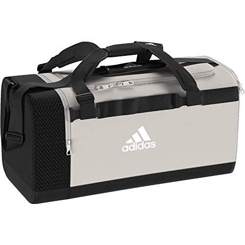 adidas Training Sporttasche, 56 cm, 46 Liter, Raw White/Black/White