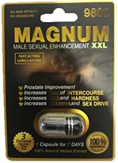 Magnum Sex Pills For Men's Stamina and libido.1 Capsule for 7 days.Whole Box $90.00 (20)