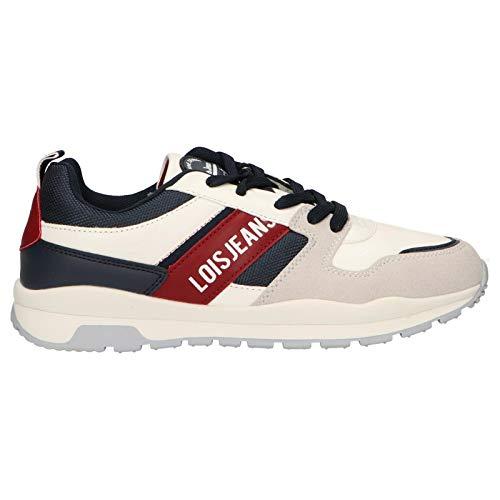 Lois Jeans Zapatillas Deporte 63017 06 Blanco 36 para Mujer y Niña y Niño