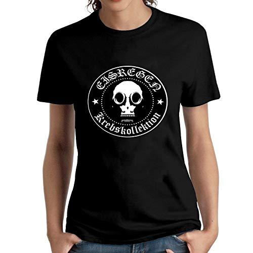 HAIZHENY Damen Eisregen Krebskollektion Cotton T-Shirt Tee X-Large