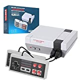 Retro Mini Video Game Console - Built-in 620 Classic Game, Dual Gamepad Gaming is A Choice for Children and Adults 90s Toys