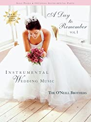 A Day to Remember Vol 1 Instrumental Wedding Music