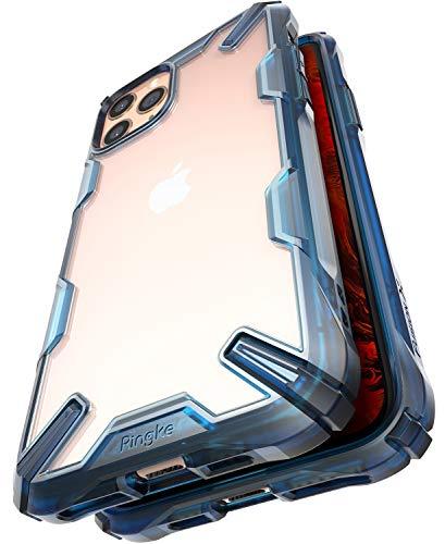 Ringke Fusion-X Progettato per Cover iPhone 11 PRO, Custodia iPhone XI PRO Case (2019) - Space Blue
