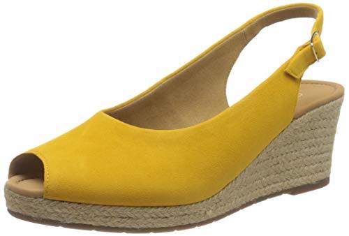 Gabor Shoes Damen Comfort Basic Pumps, Rot (Mango (Jute) 22), 43 EU