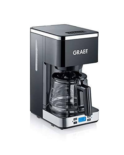 Graef FK502EU Filterkaffeemaschine, 1000, schwarz