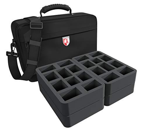 Feldherr MEDIUM Tasche kompatibel mit BattleTech: Clan Invasion - Box Set + weitere Mech-Miniaturen