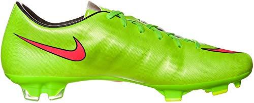 Nike Mercurial Victory V FG Fussballschuhe electric green-hyper punch-black-volt- 42