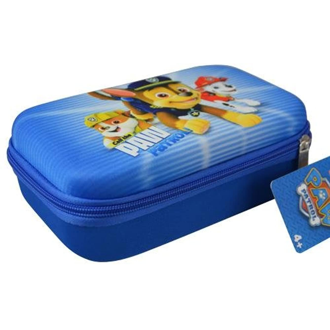 Hard Shell Zipper Pencil Case (Great for Small Toy Storage Organizer, Cosmetic Pouch etc.) (Paw Patrol)
