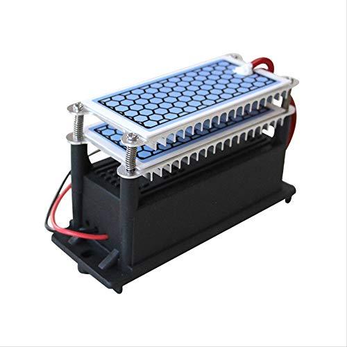 WYWML Tragbarer Ozongenerator,220V10g Integrierter keramischer O3 Ozonisator,ozongerät gegen pilzsporen