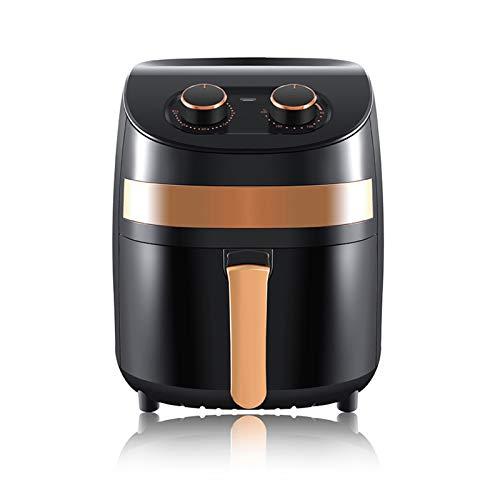 Staright Fritadeira de ar 1000 W 3.5L elétrica Fritadeira de ar quente Forno sem óleo Controle de botão de fogão antiaderente Fritadeira de ar saudável com temporizador e controlador de temperatura, 220-240V