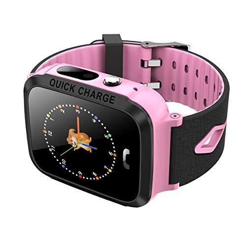 Relojes para niños Smart Watch GPS Tracker 1.44 Pulgadas de Pantalla táctil de la cámara Relojes Inteligentes