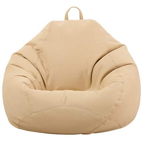 TLTLLRSF Lazy Couch Bean Bag Chambre Balcon Salon Petit Appartement Lazy Canapé Canapé Canapé Chaise (Couleur : B, taille : 90×110cm)
