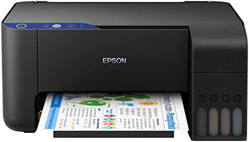Epson EcoTank L3111 | Modelo Importación | Sin Cobertura de Garantía en España o Portugal | Inyección de Tinta 33 ppm 5760 x 1440 dpi A4 - Impresora multifunción
