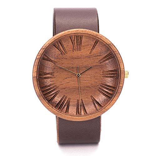 Ovi Watch - Holzuhr Herren - 42mm mit Schweizer Uhrwerk