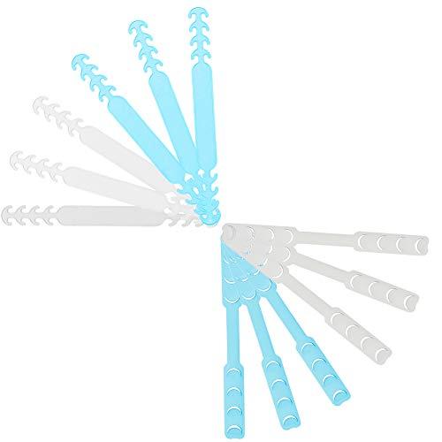 12er Set Maskenhalter, Ohrenschoner Maske, Mundschutzhalter, Maskenhalter Mundschutz, Schnallenband für Erwachsene und Kinder