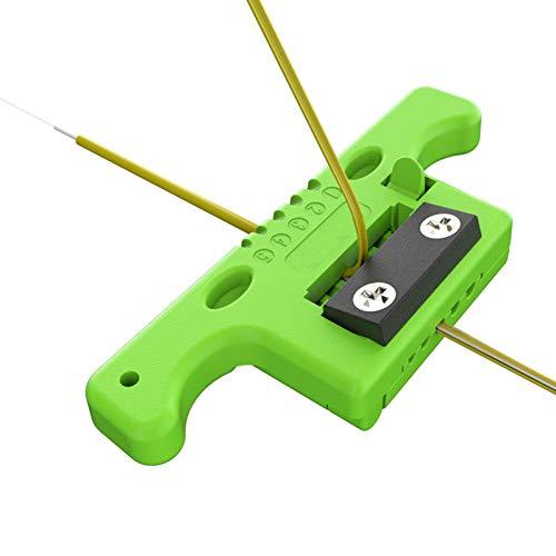 Dpofirs Pelacables de Cinta para Cables para Tubos Sueltos MAST5, ABS Separador de Cables Profesional para Múltiples para Bricolaje, Pelacables Portátil para Fibra Pelada 1.9~3.0 mm