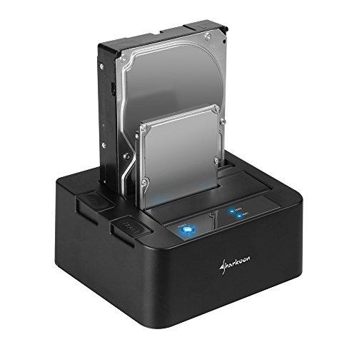 Sharkoon SATA QuickPort Duo USB 3.0 HDD-Dockingstation für SATA-Festplatten