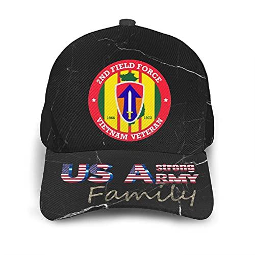 485 Baseball Cap Segundo Veterano De La Fuerza De Ventas De Vietnam Gorra Deportiva Moda Sombrero De Papá para Mujer Sport Viaje
