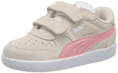 PUMA Unisex bebé Icra Trainer Sd V Inf Zapatillas, Rosa (Pink Rosewater/Peony White 33), 26 EU