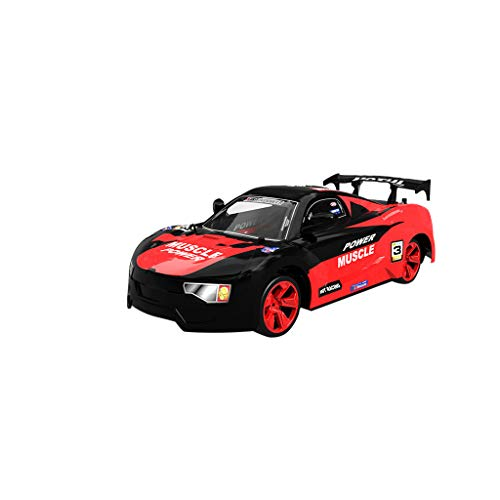 Fine 4WD RC Car 15km/h High Speed Car - Electric Toy Cars for Kids-RC Truck with 0.3MP WiFi FPV Camera Sport Racing Truck Kids Toy (Red)