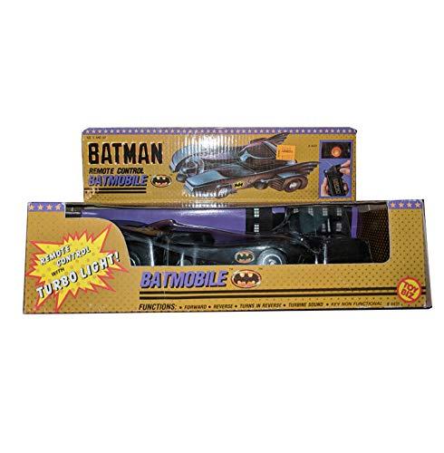 ToyBiz Batman's Batmobile Remote Control Car 1989 Rare MIB With Sticker