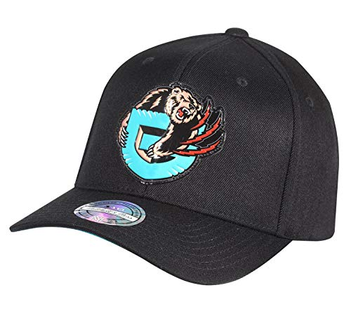Mitchell & Ness Chrome Logo Snapback Cap Vancouver Grizzlies Black