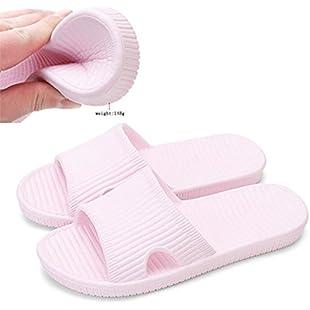 Slip On Slippers Non-slip Shower Sandals House Mule Soft Foams Sole Pool Shoes Bathroom Slide for Women