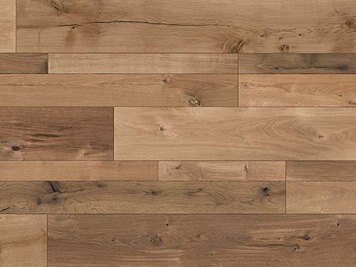 Kaindl Laminatboden Eiche dunkel 8mm | Premium Bodenbelag Oak farco elegance ✓natürliches Laufgefühl ✓schnelle klick Montage ✓unempfindlich & pflegeleicht | Eiche Laminat 2,4qm