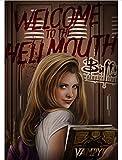 MOMEI Leinwand Poster Buffy The Vampire Slayer Poster Kunst
