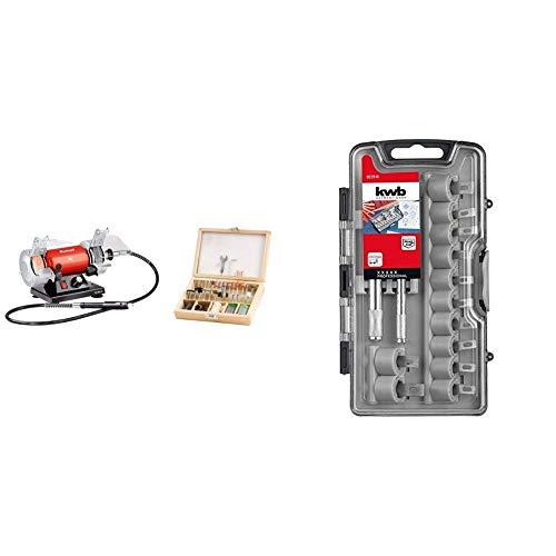 Einhell TH-XG 75 Kit esmeriladora Mini Taladro + KWB