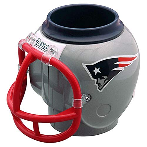 FanMug NFL New England Patriots Tasse, Becher, Sammelbehälter, Dosenhalter