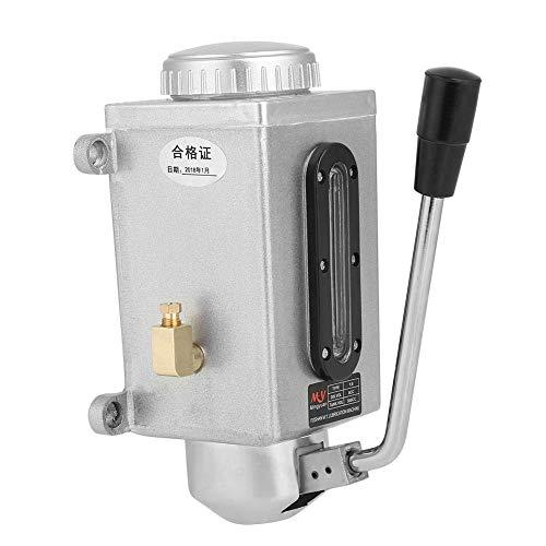 XUSHEN-HU , 500cc CNC 8M3 / H 4MM Outlet Doble Puerto Resistente a la corrosión Lubricación Manual de lubricación de Aceite lubricación de Mano para máquina de fresado de Torno Accesorios de Torno