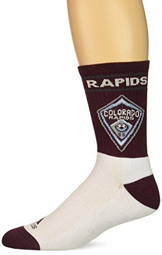 adidas - Calcetines para hombre con el nombre del equipo y logotipo, Hombre, Calcetines de equipo con nombre y logotipo, C388Z MTC, granate, Size 12-15