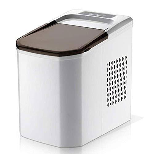 Adesign EIS-Hersteller-Maschine Compact Top Eismaschine - Zähler einfaches Modell, 15kg Eisleistung innerhalb von 24 Stunden, ideal for Küchen, Tailgating, Bars, Partys