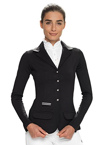 SPOOKS Showjacket Stripes (Farbe: black; Größe: XXS)