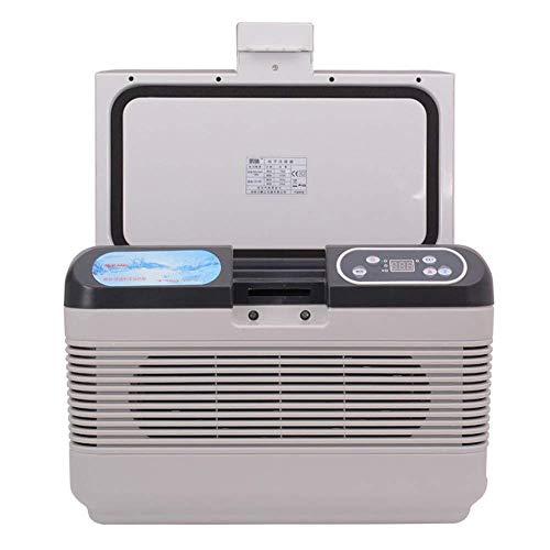 TYUIO Enfriador eléctrico enchufable de 12 voltios - Refrigerador termoeléctrico y enfriador de enfriador portátil portátil de 12 litros para enfriadores de camiones, caravanas, hogares, oficinas, via