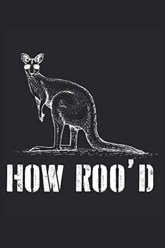 Cuaderno: canguro, canguros, marsupial, australia,: 120 páginas rayadas: cuaderno, cuaderno de bocetos, diario, lista de tareas pendientes, cuaderno ... para planificar, organizar y tomar notas.