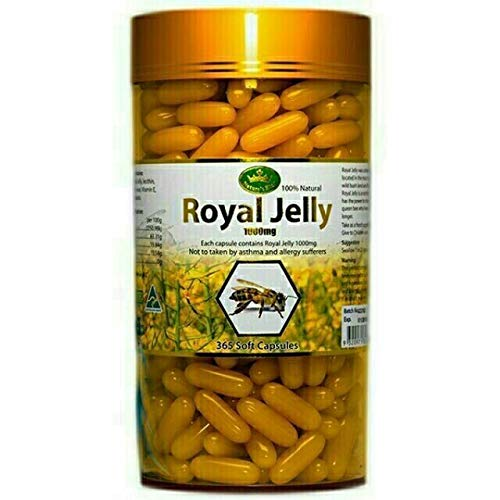 Nature's King Popular product Royal Jelly 365 Mg. 1000 tablets Ranking integrated 1st place