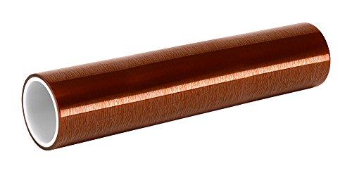 TapeCase 2B-25,4 cm X 91,4 m Bernstein Polyimid Silikon Klebeband mit Silikonkleber, 11000 Durchschlagfestigkeit, 2 mil, 36 yd. Länge: 25,4 cm