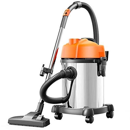 GNLIAN HUAHUA Vacuumas de Mano Húmedo y seco de vacío Vac Limpiador 18ltr 1200w Acero Inoxidable [Clase energética A