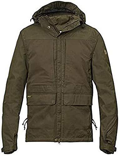 FJÄLLRÄVEN Lappland Hybrid Jacket M Veste de Sport Homme, Dark Olive, FR : 2XL (Taille Fabricant : XXL)