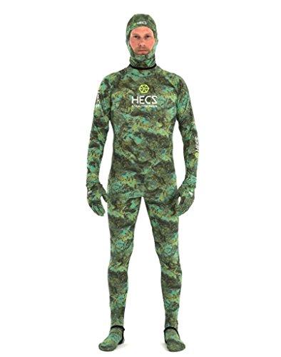 HECS Aquatic Dive Skin - Camo - Large