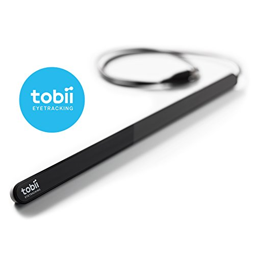 Tobii Eye Tracker 4C - The Game-changing Eye Tracking Peripheral for Streaming, PC Gaming & Esports