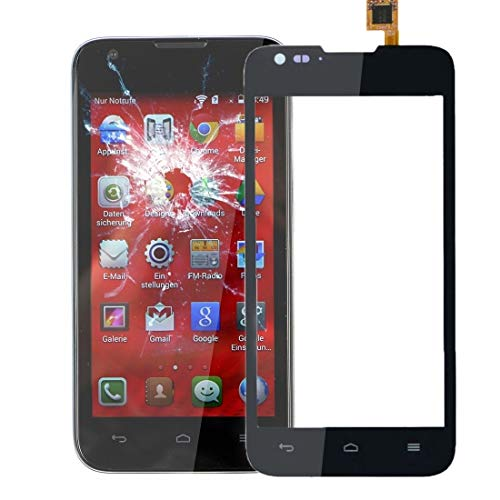 Zhouzl Huawei Spare for Huawei Ascend Y550 Touch Panel Digitizer (Nero) Huawei Spare (Colore : Black)