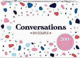 Oh Happy Games Conversations - Jeu de Discussion - Jeu de Cartes - Questions Profondes pour approfondir Les Relations
